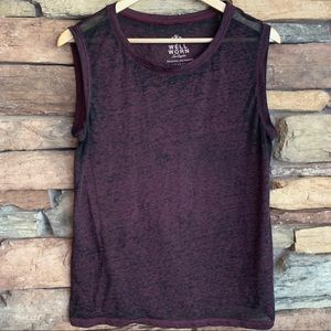 Burnout Top Shirt Well Worn Large